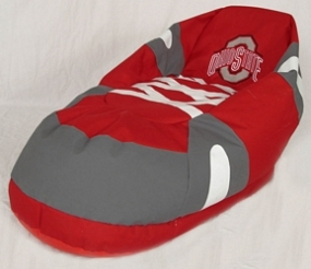 Ohio State Buckeyes Bean Bag Boot Slipper Chair