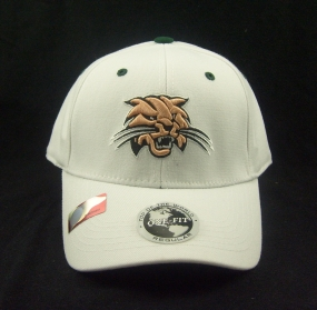 Ohio Bobcats White One Fit Hat