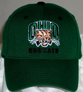 Ohio Bobcats Team Color One Fit Hat