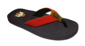 Ohio State Buckeyes Flip Flop Sandals