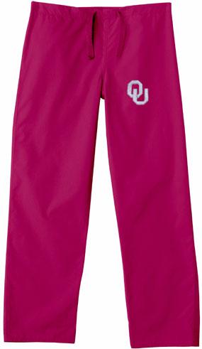 Oklahoma Sooners Scrub Pants