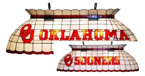 Oklahoma Sooners Pool Table Light