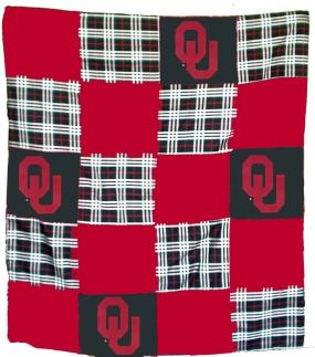Oklahoma Sooners Quilt
