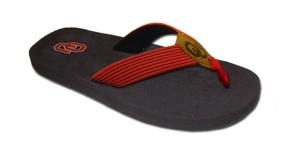 Oklahoma Sooners Flip Flop Sandals