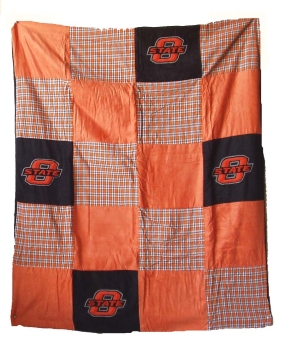 Oklahoma State Cowboys Quilt