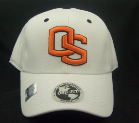 Oregon State Beavers White One Fit Hat