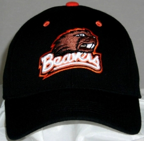 Oregon State Beavers Black One Fit Hat