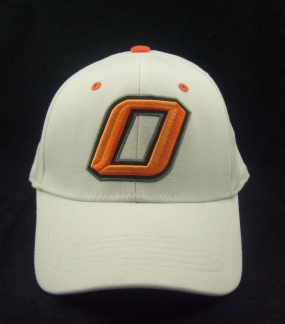 Oklahoma State Cowboys White One Fit Hat