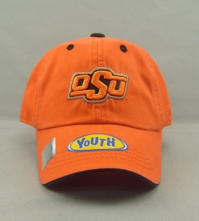 Oklahoma State Cowboys Youth Crew Adjustable Hat