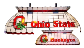 Ohio State Buckeyes Pool Table Light