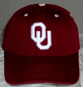 Oklahoma Sooners Adjustable Crew Hat