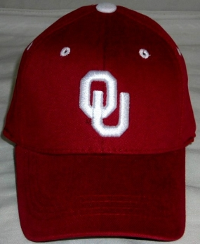Oklahoma Sooners Youth Team Color One Fit Hat