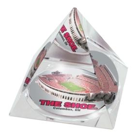 Ohio State Buckeyes Crystal Pyramid