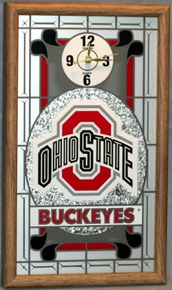 Ohio State Buckeyes Wall Clock