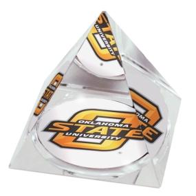 Oklahoma State Cowboys Crystal Pyramid