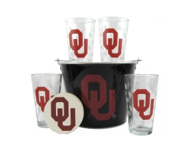 Oklahoma Sooners Gift Bucket Set