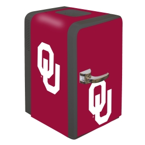 Oklahoma Sooners Portable Party Refrigerator
