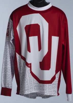 Oklahoma Sooners Mountain Bike Jersey