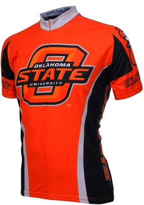 Oklahoma State Cowboys Cycling Jersey