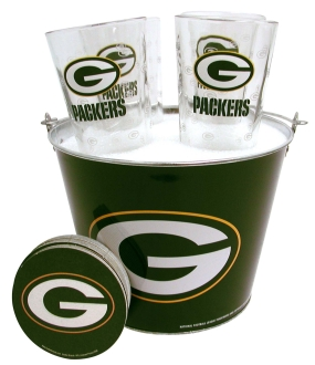 Green Bay Packers Gift Bucket Set