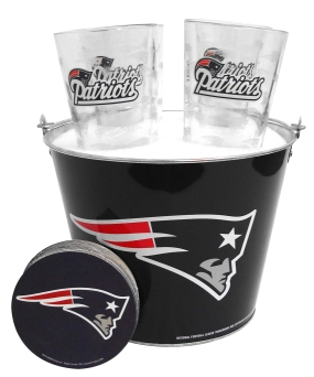New England Patriots Gift Bucket Set