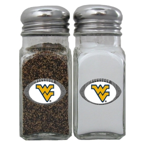West Virginia Mountaineers Salt and Pepper Shaker