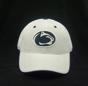 Penn State Nittany Lions White Elite One Fit Hat