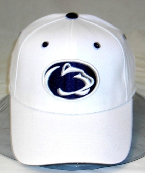 Penn State Nittany Lions White One Fit Hat