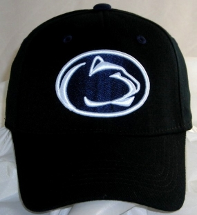 Penn State Nittany Lions Black One Fit Hat