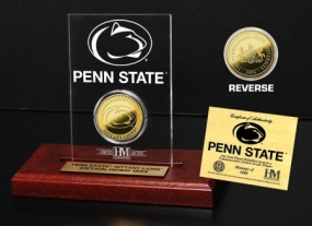 Penn State University 24KT Gold Coin Etched Acrylic