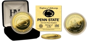 Penn State University 24KT Gold Coin