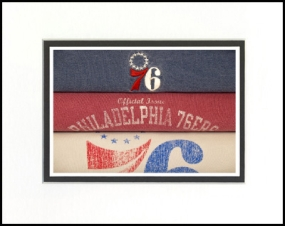 Philadelphia 76ers Vintage T-Shirt Sports Art