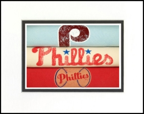 Philadelphia Phillies Vintage T-Shirt Sports Art