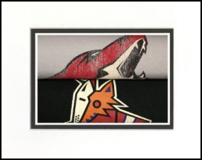 Phoenix Coyotes Vintage T-Shirt Sports Art