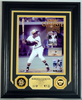 Roberto Clemente Gold Coin Photo Mint