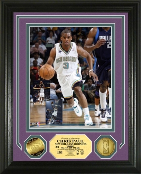Chris Paul 24KT Gold Coin Photo Mint