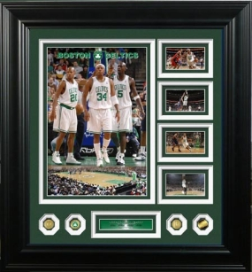 Boston Celtics 24KT Gold Coin Grand Highlight Photomint