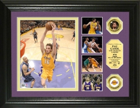 Pao Gasol Highlight Collection 24KT Gold Coin Photo Mint