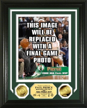 Paul Pierce Boston Celtics 2008 NBA Finals MVP 24KT Gold Coin Photo Mint