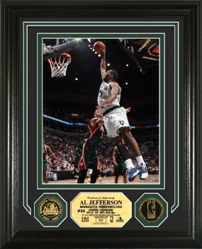 Al Jefferson 24KT Gold Coin Photo Mint