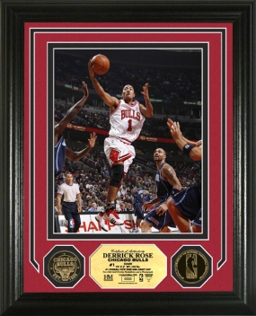 Derrick Rose 24KT Gold Coin Photo Mint