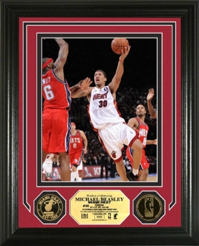 Michael Beasley 24KT Gold Coin Photo Mint