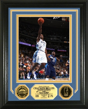 Chauncey Billups 24KT Gold Coin Photo Mint