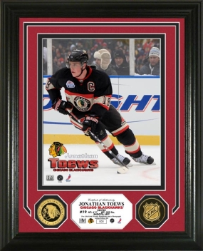 Jonathan Toews 24KT Gold Coin Photo Mint