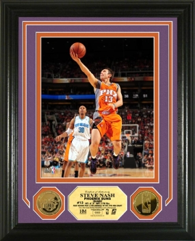 Steve Nash 24KT Gold Coin Photo Mint