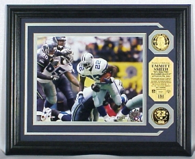 EMMITT SMITH ALL TIME RUSHING RECORD PHOTOMINT