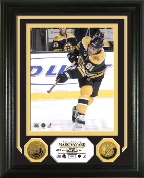Marc Savard 24KT Gold Coin Photo Mint