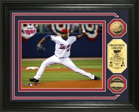 Francisco Liriano24KT Gold Coin Photo Mint