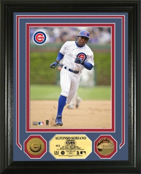 Alfonso Soriano 24KT Gold Coin Photo Mint