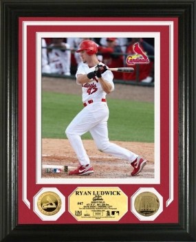 Ryan Ludwick 24KT Gold Coin Photo Mint